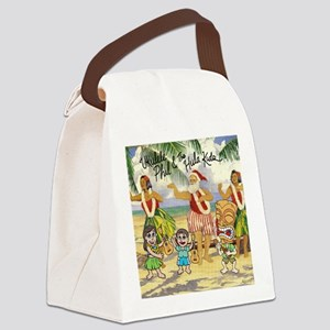 Katies Dec 2010 magnet Canvas Lunch Bag