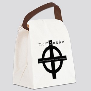 MCMANSKE2 Canvas Lunch Bag