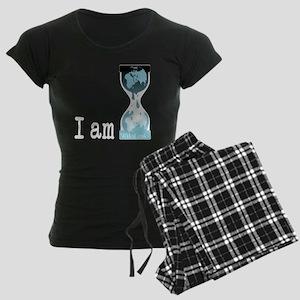 I am wikileaks3white Women's Dark Pajamas