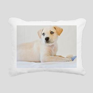LabPuppy Rectangular Canvas Pillow