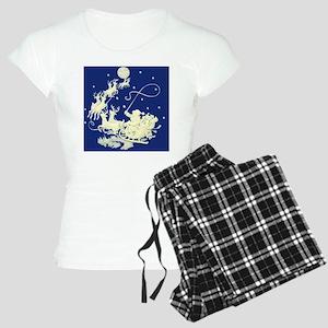 santa-night-ride-sq Women's Light Pajamas