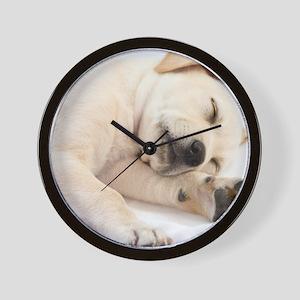 LabPuppy-19 Wall Clock