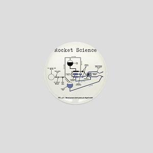 Rocket science Mini Button