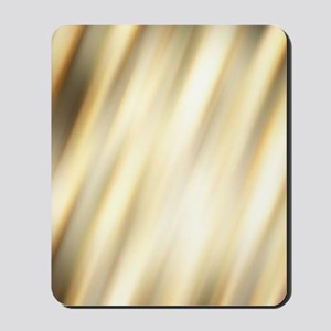 champagne color abstract pattern Mousepad