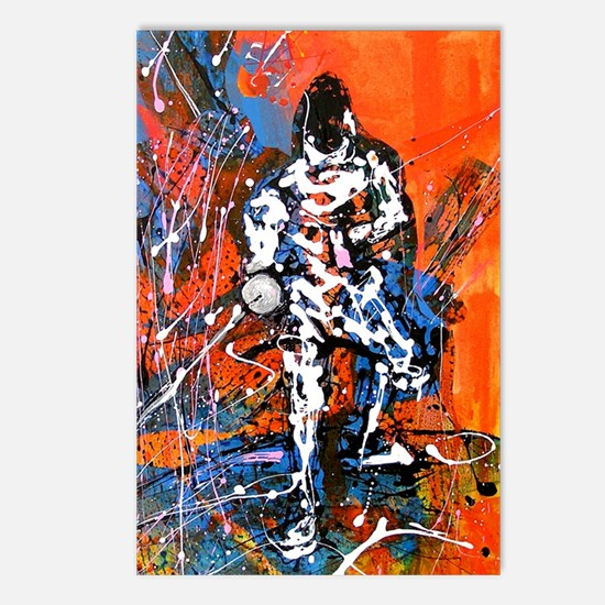 Abstract Epee_4 Postcards (Package of 8)