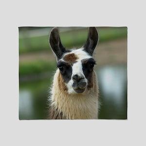llama1_rnd Throw Blanket