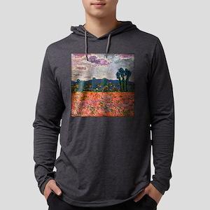 Monet - Poppy Field Long Sleeve T-Shirt