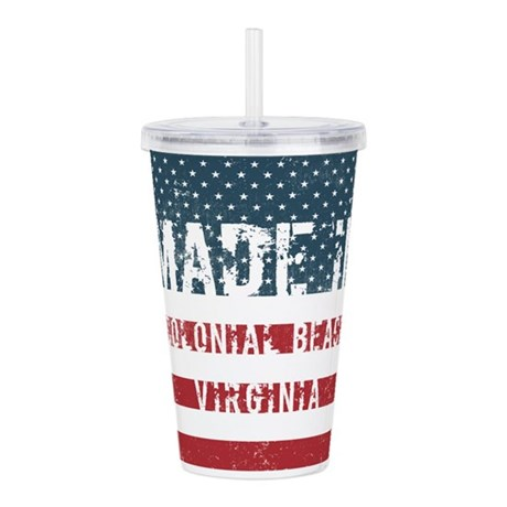 Made in Colonial Beach Acrylic Double-wall Tumbler