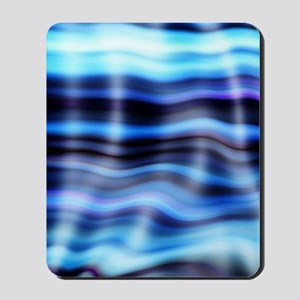 blue water ripples ocean beach decor Mousepad