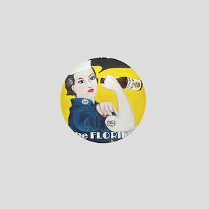 Rosie4Cafe Mini Button