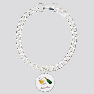 just married champagne r Charm Bracelet, One Charm