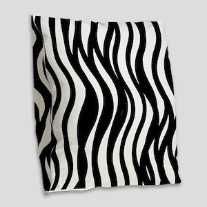 Mod Lines Burlap Throw Pillow