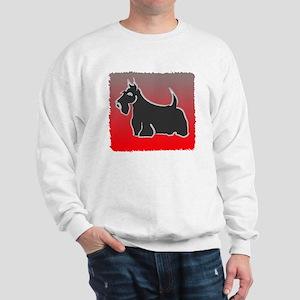large cafe scotsketch Sweatshirt