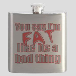 YouSayImFatLikeItsABadThing Flask
