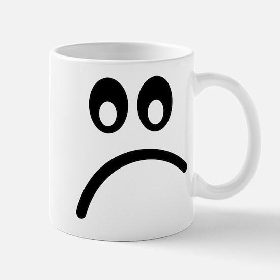 Smiley Face sad Mug