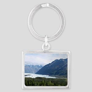 Matanuska Glacier Landscape Keychain
