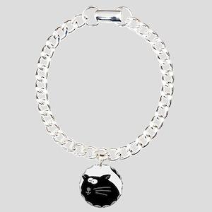 Cat 5atr Charm Bracelet, One Charm