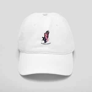 Disabled Veteran Eagle and Ribbon Cap