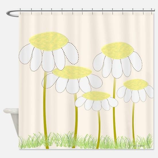 Daisies 1 Shower Curtain
