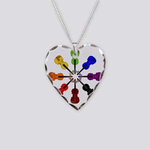 circle_of_violins Necklace Heart Charm