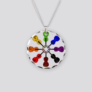 circle_of_violins Necklace Circle Charm