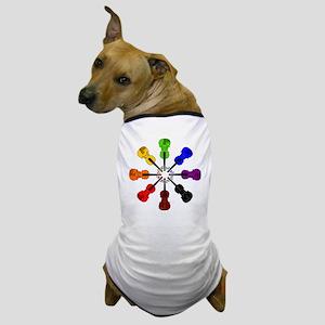 circle_of_violins Dog T-Shirt