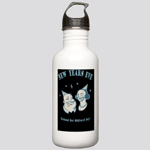 new-years-natl-CRD Stainless Water Bottle 1.0L