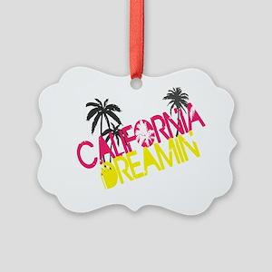 cali_dreamin Picture Ornament