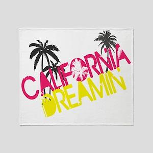 cali_dreamin Throw Blanket