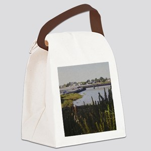 Views of Alameda One Canvas Lunch Bag