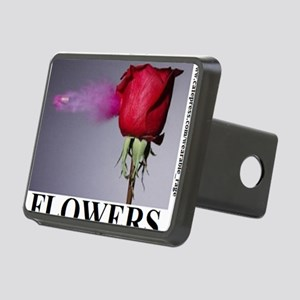FLOWERS2 Rectangular Hitch Cover