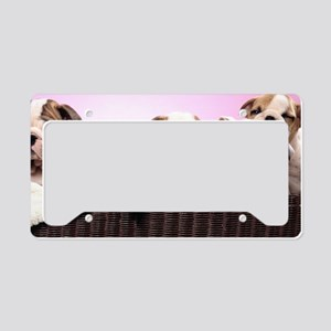 bd basket S print License Plate Holder