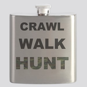 crawl walk hunt Flask