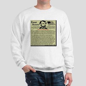 fourscorenew2 Sweatshirt