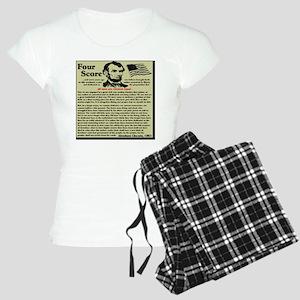 fourscorenew2 Women's Light Pajamas