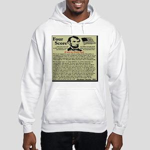 fourscorenew2 Hooded Sweatshirt