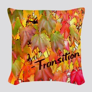 Transition Woven Throw Pillow