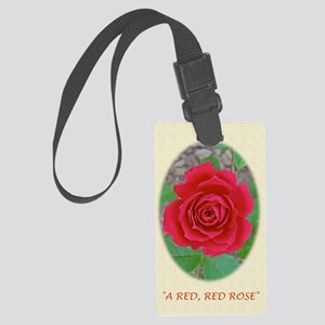 Love, Romance, Classical Poem, P Large Luggage Tag