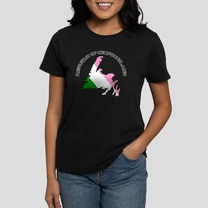 Republic of Newfoundland with Women's Dark T-Shirt
