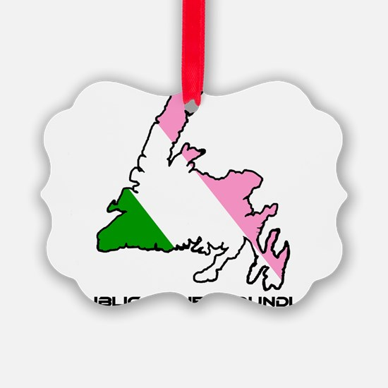 Republic of Newfoundland with Isl Ornament