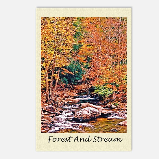 Autumn, Fall Classical Ol Postcards (Package of 8)