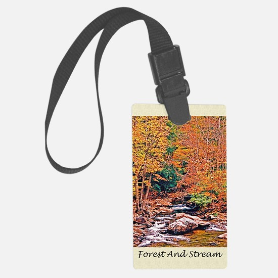 Autumn, Fall Classical Old Poetr Luggage Tag