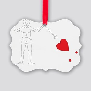 Blackbeard-Trans Picture Ornament