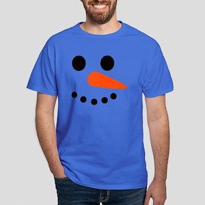 Snowman Face Dark T-Shirt