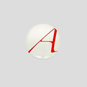 Scarlet Letter - trans Mini Button