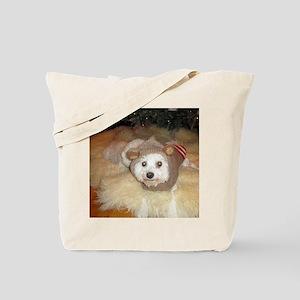 Sasha-Sock-Monkey-Dec-13-20 Tote Bag