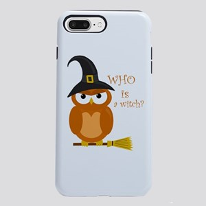 Halloween orange witch ow iPhone 7 Plus Tough Case