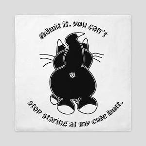 Admit it Cat Butt Queen Duvet