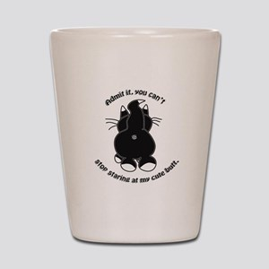 Admit it Cat Butt Shot Glass