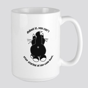 Admit it Cat Butt Mugs